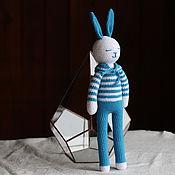 Куклы и игрушки handmade. Livemaster - original item Bunny the sailor. Handmade.