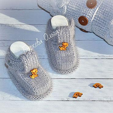 Товары для малышей ручной работы. Ярмарка Мастеров - ручная работа Пинетки - сандалики. Handmade.