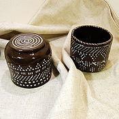 Посуда ручной работы. Ярмарка Мастеров - ручная работа Бокалы керамические. Handmade.
