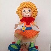 Куклы и игрушки ручной работы. Ярмарка Мастеров - ручная работа Кукла Соня (шкатулка). Handmade.