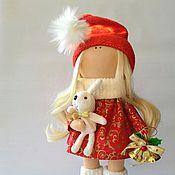 Подарки к праздникам ручной работы. Ярмарка Мастеров - ручная работа Кукла помощница Санты. Handmade.