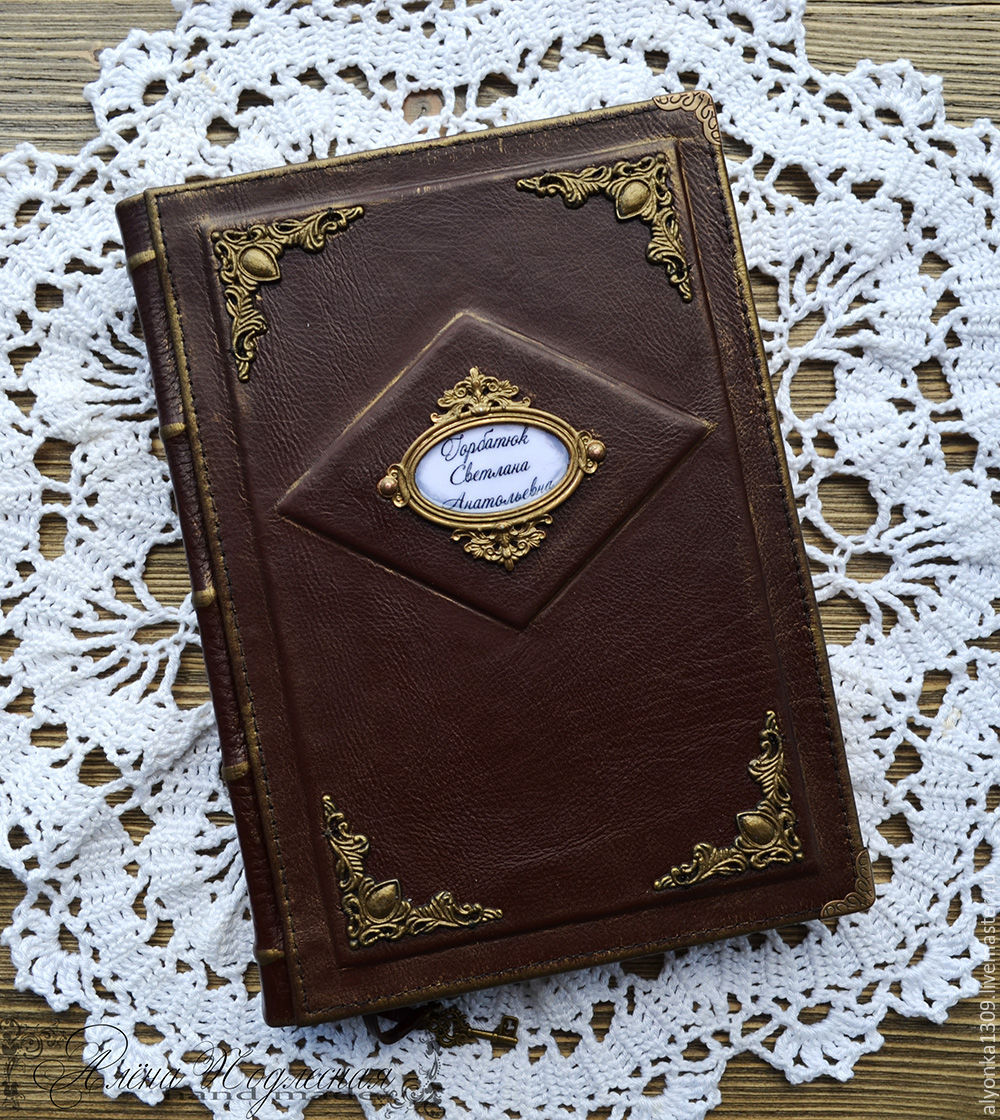 personal diary record book shop online on livemaster with