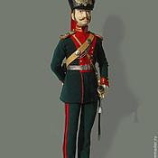 Куклы и игрушки ручной работы. Ярмарка Мастеров - ручная работа Офицер Лейб-гвардии Конно- Генадерского полка. Handmade.
