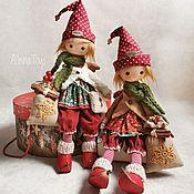Куклы и игрушки handmade. Livemaster - original item Garret doll: New year`s dwarf.Christmas doll. Handmade.