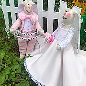 Подарки ручной работы. Ярмарка Мастеров - ручная работа Свадебные зайцы, свадебный подарок, оригинальный подарок. Handmade.