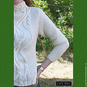 Одежда handmade. Livemaster - original item Womens sweater knit