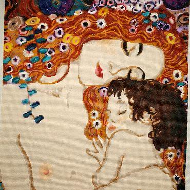 Картины и панно ручной работы. Ярмарка Мастеров - ручная работа Материнская любовь. Handmade.