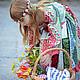 Одежда для девочек, ручной работы. Заказать Платье Сказка  для девочки и фартук горошки рюшки Хлопок. Camilla Reynolds. Ярмарка Мастеров.