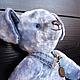 Мишки Тедди ручной работы. ФИЛЯ, очень смелый щенок, тедди  пес. Куклы КАШЕМИР / СashMere. Ярмарка Мастеров.
