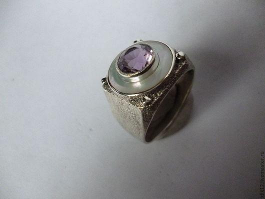 """Кольца ручной работы. Ярмарка Мастеров - ручная работа. Купить перстень """"Изящный 4"""" авторская работа художника. Handmade. Фиолетовый"""