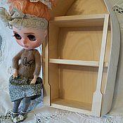 Материалы для творчества ручной работы. Ярмарка Мастеров - ручная работа Комодик-лодочка,шкафчик для кукол. Handmade.