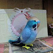 Куклы и игрушки ручной работы. Ярмарка Мастеров - ручная работа Попугай Гоша. Handmade.