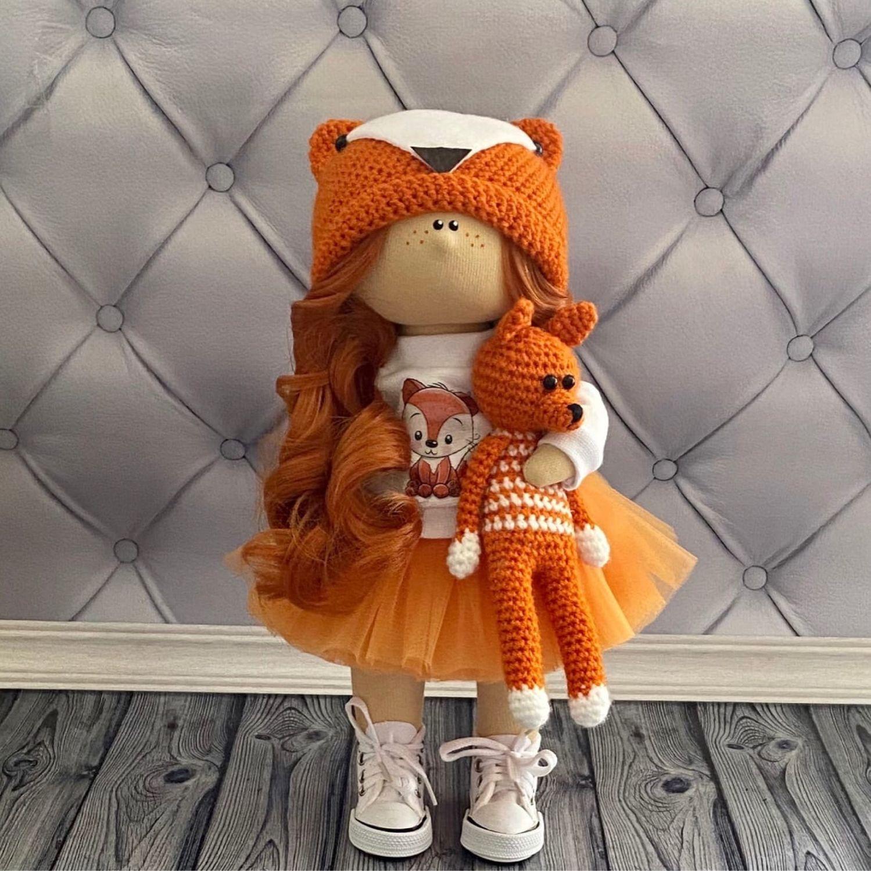 Кукла лисичка, Тыквоголовка, Вельск,  Фото №1