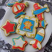 Сувениры и подарки handmade. Livemaster - original item Set of gingerbread: gingerbread on February 23.. Handmade.