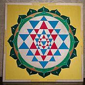 Фен-шуй и эзотерика handmade. Livemaster - original item Sri Yantra. Handmade.