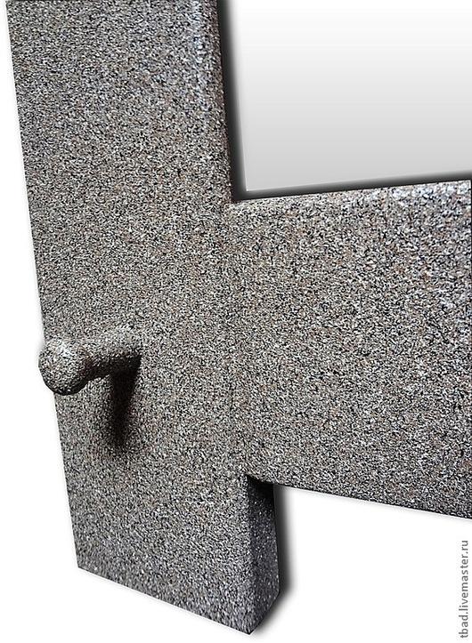 """Зеркала ручной работы. Ярмарка Мастеров - ручная работа. Купить Зеркало настенное """"Под камень"""". Handmade. Зеркало"""
