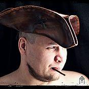 """Аксессуары handmade. Livemaster - original item Шляпа-треуголка """"Jack Sparrow"""" ver.№ 2. Handmade."""