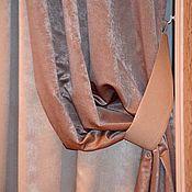 Для дома и интерьера ручной работы. Ярмарка Мастеров - ручная работа Шторы для спальни. Handmade.