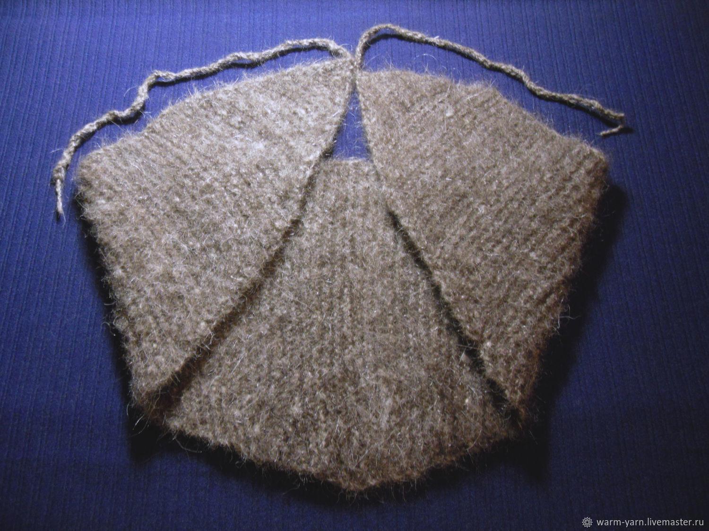 Knitted belt with ties Kerchief, Belt, Klin, Фото №1