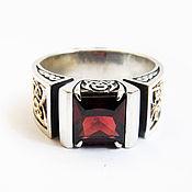 Украшения handmade. Livemaster - original item ring: Silver men`s ring