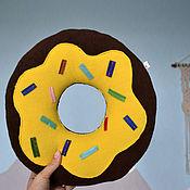 Для дома и интерьера handmade. Livemaster - original item Pillow donut. Handmade.