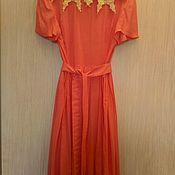 """Одежда ручной работы. Ярмарка Мастеров - ручная работа Платье """"розовый горошек"""". Handmade."""