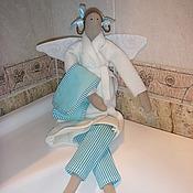 Куклы и игрушки ручной работы. Ярмарка Мастеров - ручная работа Тильда Банная фея. Handmade.