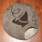 Для домашних животных, handmade. Livemaster - original item Cat house - Coffee morning. Handmade.