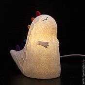 Для дома и интерьера ручной работы. Ярмарка Мастеров - ручная работа Светильник войлочный  Дракон. Handmade.