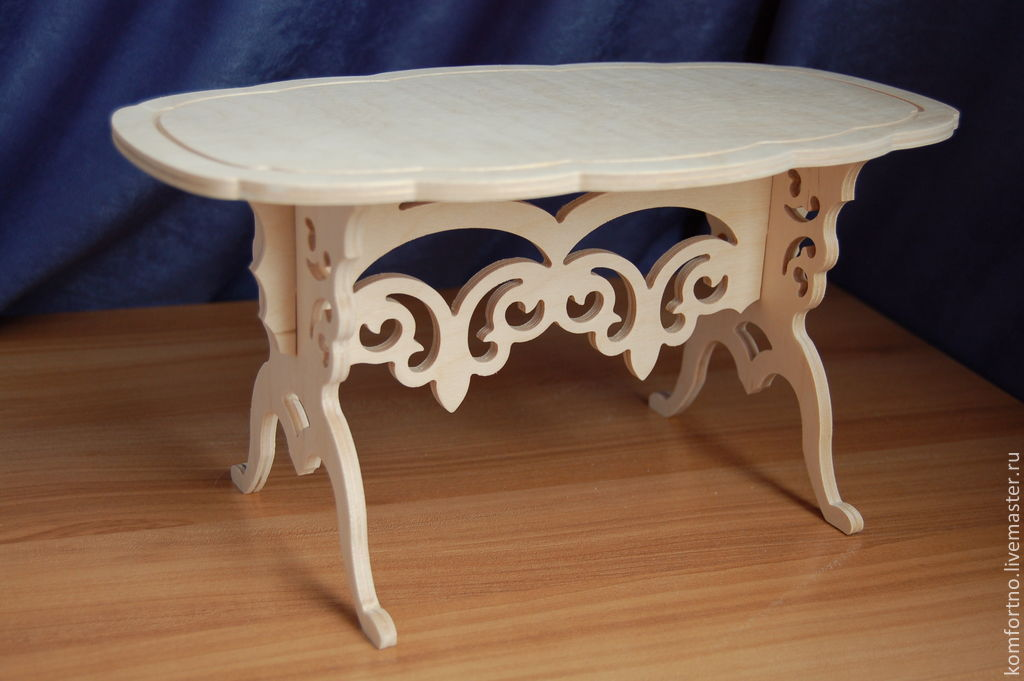 Puppet table.Blank for decoupage and painting.997