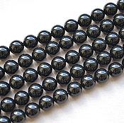 Материалы для творчества handmade. Livemaster - original item Pearls Swarovski 6mm Mystic Black. Handmade.