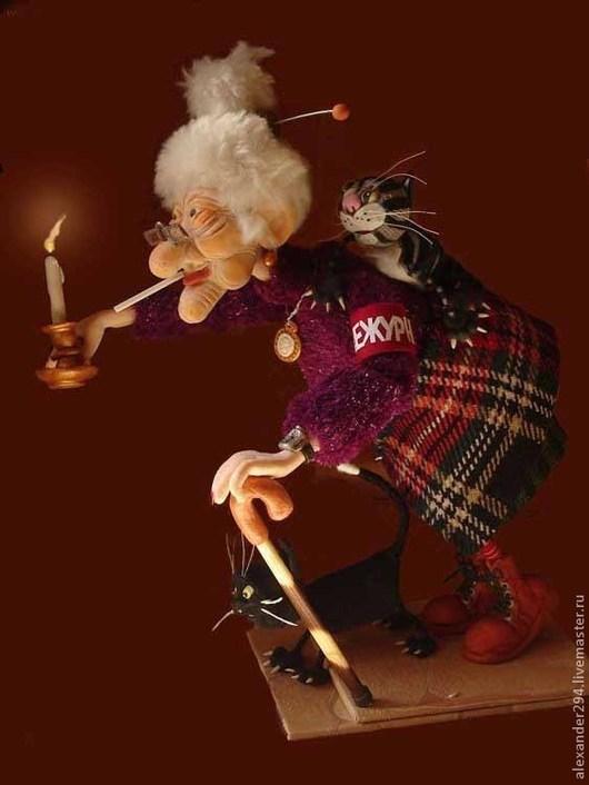 Коллекционные куклы ручной работы. Ярмарка Мастеров - ручная работа. Купить Ночной дозор 2. Handmade. Авторская кукла, плед