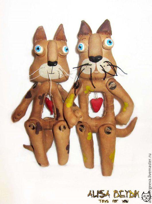 """Ароматизированные куклы ручной работы. Ярмарка Мастеров - ручная работа. Купить Котики """"Парочка"""". Handmade. Коричневый, кофейная игрушка"""