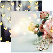 """Бумага ручной работы. Ярмарка Мастеров - ручная работа """"Свадебная № 5"""" - бумага для свадебных проектов. Handmade."""