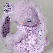 Куклы и игрушки handmade. Livemaster - original item Teddy Zaya Wii or don`t come near me I am offended. Handmade.