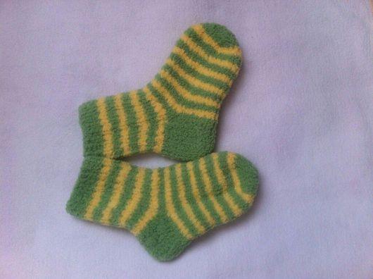 Носки, гольфы, гетры ручной работы. Ярмарка Мастеров - ручная работа. Купить Полосатые носочки. Handmade. Детские носочки