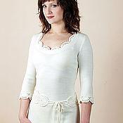 Одежда ручной работы. Ярмарка Мастеров - ручная работа Платье вязаное 6375. Handmade.