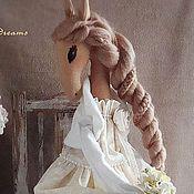 Куклы и игрушки ручной работы. Ярмарка Мастеров - ручная работа Лошадка Элен. Handmade.