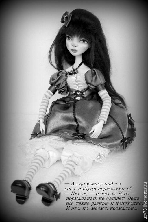 Коллекционные куклы ручной работы. Ярмарка Мастеров - ручная работа. Купить Будуарная кукла Алиса. Handmade. Коллекционная кукла
