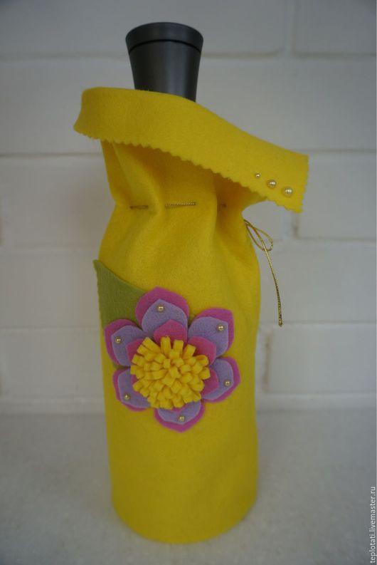 Подарочная упаковка ручной работы. Ярмарка Мастеров - ручная работа. Купить Упаковка для бутылки или подарка. Handmade. Разноцветный