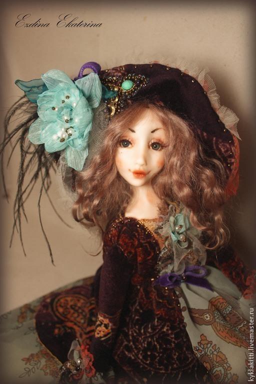 Коллекционные куклы ручной работы. Ярмарка Мастеров - ручная работа. Купить Милиса Будуарная куколка. Handmade. Будуарная кукла