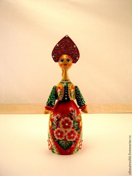 Сувениры ручной работы. Ярмарка Мастеров - ручная работа. Купить Красавица большая. Handmade. Кукла, фиолетовый цвет, красивое лицо