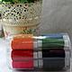 Шитье ручной работы. Ярмарка Мастеров - ручная работа. Купить Нитки швейные набор 24 цвета. Handmade. Разноцветный