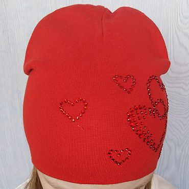 Clothing handmade. Livemaster - original item Children`s knitted hat,