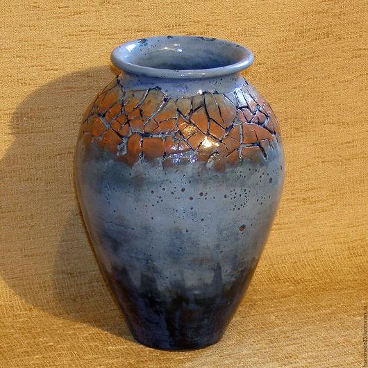 """Вазы ручной работы. Ярмарка Мастеров - ручная работа. Купить ваза """"фиеста"""". Handmade. Комбинированный, ваза, интерьер, глазури"""