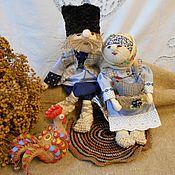 Народная кукла ручной работы. Ярмарка Мастеров - ручная работа Жили-были. Не тужили.Подарок . Бабушке и дедушке. Handmade.