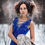 Одежда ручной работы. Ярмарка Мастеров - ручная работа Платье 003. Handmade.