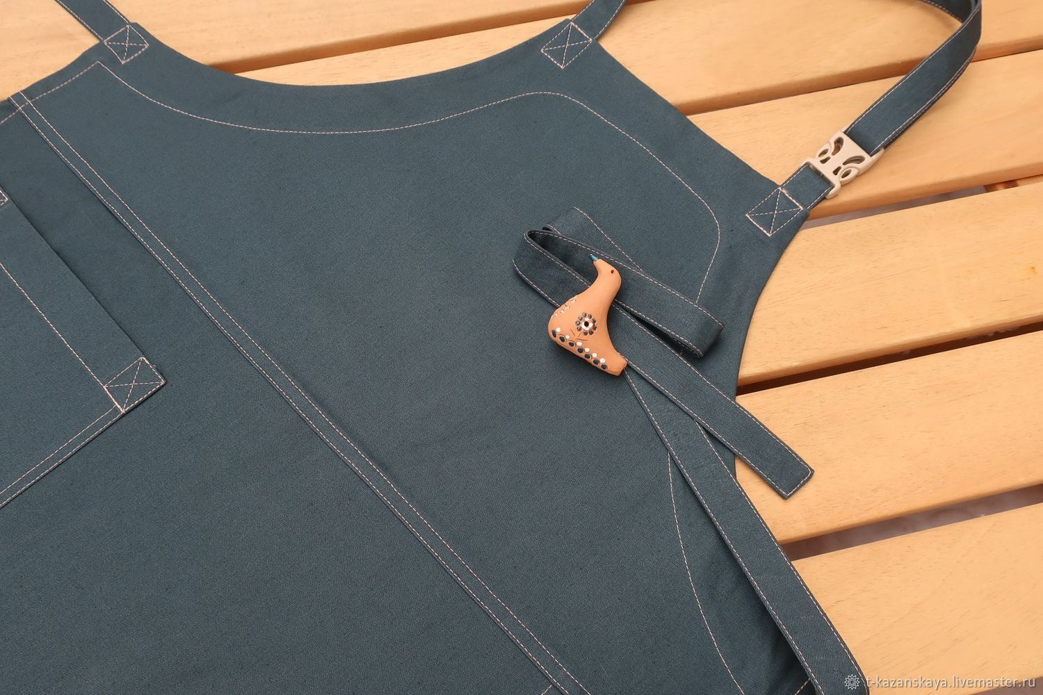 thick apron with pocket, apron for men or unisex, Aprons, Voronezh,  Фото №1