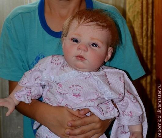 Куклы-младенцы и reborn ручной работы. Ярмарка Мастеров - ручная работа. Купить Кукла реборн Кира. Handmade. Кукла реборн