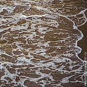 """Картины и панно ручной работы. Ярмарка Мастеров - ручная работа Фотокартина """"Вода на песке"""". Handmade."""